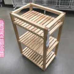 Oak Kitchen Cart Unique Gadgets 宜家代购厨房推车设计 宜家代购厨房推车diy 宜家代购厨房推车技巧 意思 国内代购宜家莫尔加推车浴室置物架洗澡间储物架