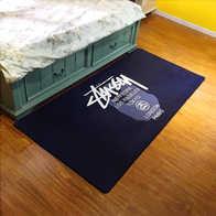 black kitchen rugs stainless steel appliance package 黑色毛地毯价格 黑色毛地毯清洗 黑色毛地毯设计 推荐 淘宝海外 地毯卧室床边长方形可机洗个性创意拍照黑色欧式厨房长条