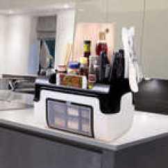 Kitchen Tool Holder Art Decor 厨房工具架印刷 厨房工具架加工 厨房工具架厂商 价格 淘宝海外 厨房调味品置物架整理油盐酱醋调料瓶罐刀叉勺