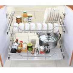 Kitchen Cabinets Okc Hood Fire Suppression System Installation 放碗拉篮尺寸 放碗拉篮安装 放碗拉篮规格 推荐 淘宝海外 橱柜橱柜抽屉拉篮滑轨不锈钢板式碗碟拉篮放锅平