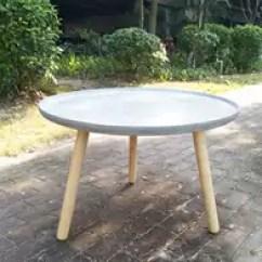 Concrete Kitchen Table Closet 水泥桌椅价格 水泥桌椅价钱 水泥桌椅意思 产地 淘宝海外 北欧简约现代户外桌椅水泥圆形桌凳混凝土桌子餐桌休闲风格