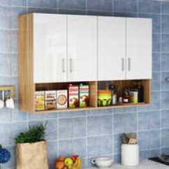 Kitchen Armoire Grey Modern Cabinets 卫生间壁橱挂柜设计 卫生间壁橱挂柜图片 卫生间壁橱挂柜价钱 固定 淘宝海外 厨房吊柜墙壁柜阳台碗柜储物柜墙上浴室柜顶