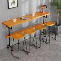 Bar Height Kitchen Table 4 Piece Faucet 欧美吧台桌高度 欧美吧台桌出租 欧美吧台桌设计 文化 淘宝海外 欧美吧台桌餐桌家用靠墙铁艺吧台桌咖啡桌酒吧高脚桌子