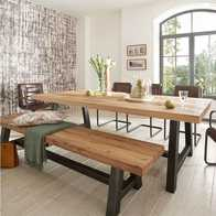 kitchen table bench seat outdoor modular 实木餐桌长椅新品 实木餐桌长椅价格 实木餐桌长椅包邮 品牌 淘宝海外 loft美式乡村北欧风长条复古铁艺实木餐桌椅组合咖啡厅