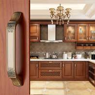 new kitchen cabinet doors ikea 厨柜门抽设计 厨柜门抽diy 厨柜门抽工厂 种类 淘宝海外 新中式柜门拉手仿古高档橱柜把手欧式衣柜门拉手现代简约抽屉