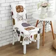 kitchen chair slipcovers wire shelves 厨房座椅新品 厨房座椅价格 厨房座椅包邮 品牌 淘宝海外 椅子套罩家用坐凳厨房会议紫色四季布套单人桌椅
