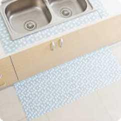 Kitchen Sink Mats Daisy Decor 厨房水池防水垫设计 厨房水池防水垫价钱 厨房水池防水垫推荐 品牌 淘宝海外 加宽水槽水池吸水静电贴地板防滑垫厨房浴室吸水贴脚垫