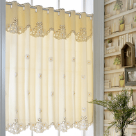 french lace kitchen curtains remodeling los angeles 蕾丝短纱窗帘价格 蕾丝短纱窗帘颜色 蕾丝短纱窗帘设计 尺寸 淘宝海外 韩式清新窗帘咖啡帘短帘纱帘半帘蕾丝田园飘窗帘