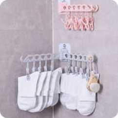 Kitchen Drying Rack Lowes Track Lighting 厨房晾衣架穿搭 厨房晾衣架标准 厨房晾衣架批发 团购 淘宝海外 壁挂免打孔卫生间浴室晒袜子夹子内衣内裤晾衣架厨房毛巾抹布
