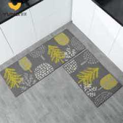 Kitchen Mat Sets Themed Bridal Shower 脚垫套颜色 脚垫套设计 脚垫套推荐 价格 淘宝海外 厨房地垫防滑防油长条两件套家用垫子卧室卫生间进门