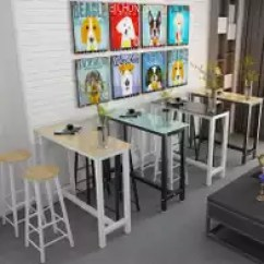 Glass Top Kitchen Table Recessed Led Lights For 酒吧玻璃高脚桌高度 酒吧玻璃高脚桌出租 酒吧玻璃高脚桌设计 文化 淘宝海外 新款玻璃吧台桌家用酒吧高脚桌客厅休闲咖啡桌简约吧台桌