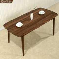 Oak Kitchen Table Island For Ikea 厨房饭桌欧式尺寸 厨房饭桌欧式高度 厨房饭桌欧式价格 推荐 淘宝海外 实木餐桌简约现代小户型4人欧式厨房定制白橡木黑胡桃木