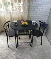 kitchen desk chair rustic clock 厨房桌椅尺寸 厨房桌椅高度 厨房桌椅价格 推荐 淘宝海外 家用情侣桌椅客厅双人组合小户型餐桌椅一桌二椅