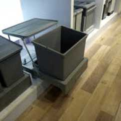Kitchen Trash Bin Triple Sink 厨房隐藏垃圾桶价格 厨房隐藏垃圾桶分类 厨房隐藏垃圾桶推荐 回收 淘宝海外 厨房柜内隐藏多功能分类垃圾桶水槽柜底垃圾桶弹开