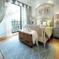 navy blue kitchen rugs ada compliant sink 地毯蓝色地中海价格 地毯蓝色地中海清洗 地毯蓝色地中海设计 推荐 淘宝海外 蓝色欧式中式美式地中海地毯客厅茶几卧室床边书房手工地毯定制