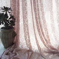 french lace kitchen curtains wall decorations 蕾丝窗帘纱隔断颜色 蕾丝窗帘纱隔断摆设 蕾丝窗帘纱隔断设计 印刷 淘宝海外 北欧法式蕾丝窗帘成品纱帘短帘柜帘门帘半帘隔断飘