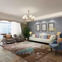 Navy Blue Kitchen Rugs Craftsman Backsplash 地毯蓝色地中海价格 地毯蓝色地中海清洗 地毯蓝色地中海设计 推荐 淘宝海外 蓝色地中海现代客厅茶几地毯卧室地毯手工剪花时尚地毯客厅门厅