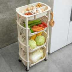 Sears Kitchen Appliances Portable Kitchens 厨房用具设计 厨房用具收纳 厨房用具推荐 店 淘宝海外 厨房置物架落地多层水果蔬菜玩具收纳神器菜筐篮子用品用具
