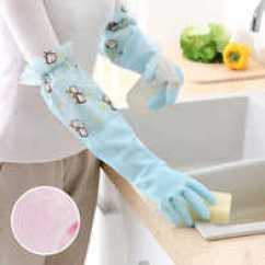 Kitchen Gloves Ready Made Island For 厨房手套批发 厨房手套推荐 厨房手套价钱 清单 淘宝海外 厨房洗碗防水保暖加绒加厚手套家用洗衣清洁防滑做家务