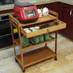 Modern Kitchen Cart Aid Mixers On Sale 厨房用推车加盟 厨房用推车价格 厨房用推车改装 价钱 淘宝海外 茶水三层手推车美容院家用餐车2017简约现代艺术移动实木厨房加