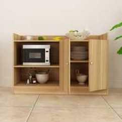 Kitchen Wood Cabinets Without Doors 厨房木柜设计 厨房木柜尺寸 厨房木柜收纳 颜色 淘宝海外 置物柜储物柜整体防油厨房橱柜餐边柜木柜子地