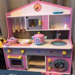 Wood Kitchen Set Touch On Faucet 木制厨房套装灶台推荐 木制厨房套装灶台哪里买 木制厨房套装灶台批发 Diy 木制厨房玩具女孩男孩儿童过家家切切乐做饭灶台