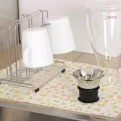 Kitchen Dish Drying Mat Office Table And Chairs 厨房干燥哪里买 厨房干燥成分 厨房干燥价格 用途 淘宝海外 日本lec厨房桌沥水垫菜板砧板吸水干燥垫餐具碗碟杯子