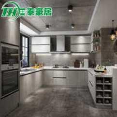 Kitchen Cabinets White Pfister Faucet 高档橱柜设计 高档橱柜diy 高档橱柜工厂 种类 淘宝海外 泰豪居白色整体橱柜定做厨房厨柜定制现代简约一字形全