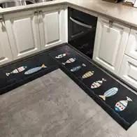 area rugs for kitchen color ideas 厨房地毯颜色 厨房地毯设计 厨房地毯推荐 价格 淘宝海外 厨房地垫吸水防油地垫长条浴室防滑脚垫子进门口