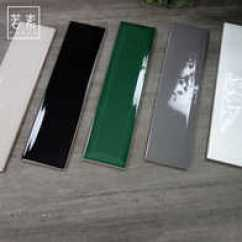 Beveled Subway Tile Kitchen Cabinets Pittsburgh 宜家地板砖价格 宜家地板砖尺寸 宜家地板砖缺点 价钱 淘宝海外 若素宜家小白砖卫生间瓷砖北欧厨房墙砖斜面简约长条