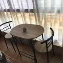 Pedestal Kitchen Table Framed Chalkboard For 厨房桌椅尺寸 厨房桌椅高度 厨房桌椅价格 推荐 淘宝海外 情侣餐桌椅组合 小户型餐桌椅 双人餐桌一桌