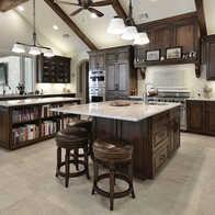 walnut kitchen cabinets the best faucets 黑色整体橱柜设计 黑色整体橱柜价格 黑色整体橱柜价钱 颜色 淘宝海外 金凯越南美黑胡桃木橱柜实木橱柜全屋定制连岛形整体
