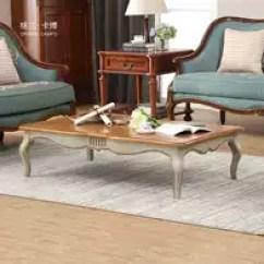 Two Tone Kitchen Table Best Way To Refinish Cabinets 双色桌子哪里买 双色桌子评价 双色桌子价格 清洗 淘宝海外 格兰卡博小美式实木茶几地中海咖啡桌双色沙发茶几桌欧式