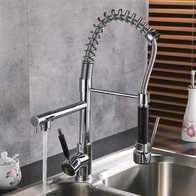 brizo kitchen faucet best sink 厨房龙头安装 厨房龙头结构 厨房龙头好用吗 价钱 淘宝海外 菲澜雨美式全铜冷热厨房水槽水龙头洗菜盆龙头弹簧