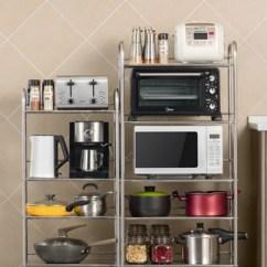 Small Kitchen Carts Black Cabinets 十一维度厨房微波炉置物架落地多层不锈钢厨具用品收纳小推车架子 Tmall 十一维度厨房微波炉置物架落地多层不锈钢厨具用品收纳小推