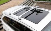 2pcs Plastic+Aluminum Alloy Roof Luggage Racks for Toyota ...
