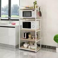 kitchen shelf brackets surplus cabinets 厨房置物架子微波炉架子支架子收纳架子设计 厨房置物架子微波炉架子支架 厨房置物架电磁炉支架子厨房收纳用品落地双层微波炉架烤箱架