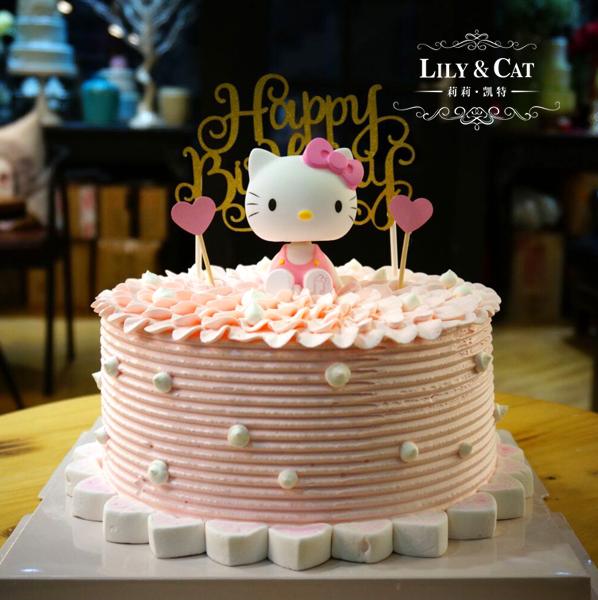 蛋糕裝飾 生日蛋糕貓裝飾 兒童卡通造型貓生日蛋糕擺件 玩偶