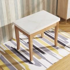 Kitchen Glass Table Bar 北歐橡膠木餐桌實木餐桌可摺疊餐桌鋼化玻璃餐桌廚房小戶型飯桌子 厨房玻璃桌