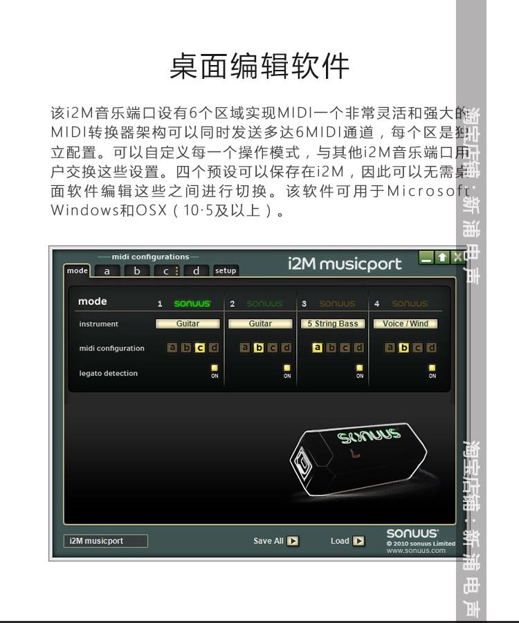 【新浦電聲】SONUUS G2M I2M midi訊號轉換器