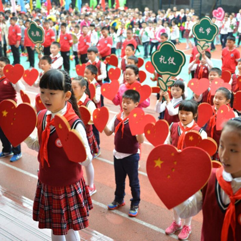 chinese heart dance props