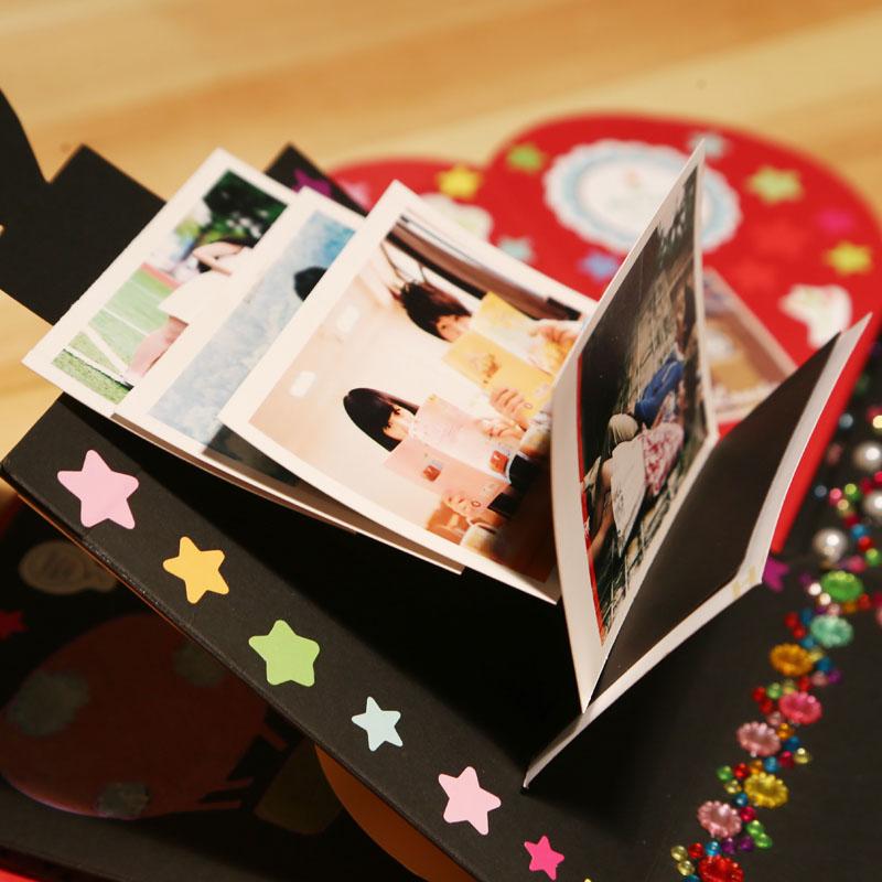 【創意禮物成品爆炸盒子diy手工相冊圣誕節禮品生日送女生男朋友】_好便宜網