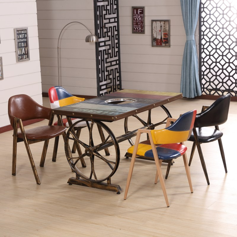 custom restaurant tables and chairs herman miller aeron chair sizes hot pot table cooker integrated gas stove rectangular round all categories