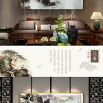 47 69 Landscape Painting Fengshui Receives Money By
