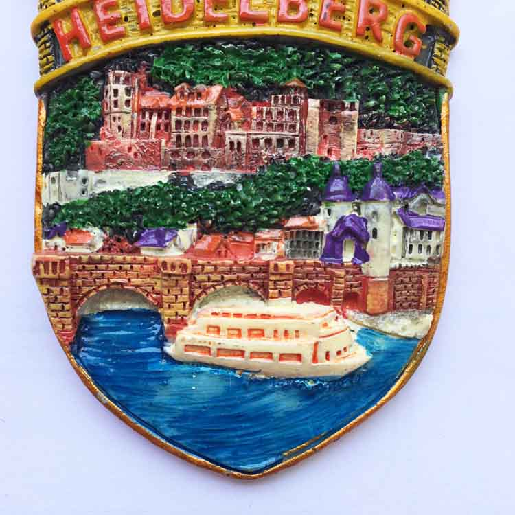 Nuevo Diseno Alemania Heidelberg Nevera Imanes Souvenirs