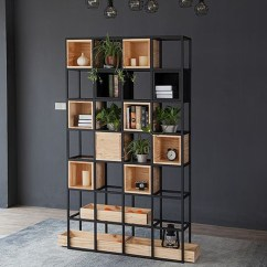 Bookcase Cabinets Living Room Layouts Usd 470 00 Bookshelf Floor Simple Modern Office Partition Shelf Entrance Cabinet Creative