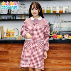 Kitchen Aprons Storage Cabinets 厨房围裙韩版时尚防油女工作服可爱做饭围裙围腰 Tmall Com天猫