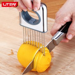 Kitchen Aid Appliance Lipper International Bamboo Drawer Dividers 切柠檬切片器柠檬切片神器水果分割器超薄家用厨房切洋葱辅助工具 Tmall Com天猫