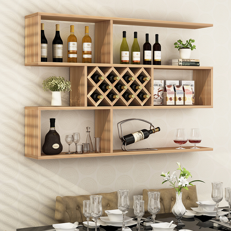 wine rack in living room cubes usd 47 43 hanging creative wall mounted entrance cabinet