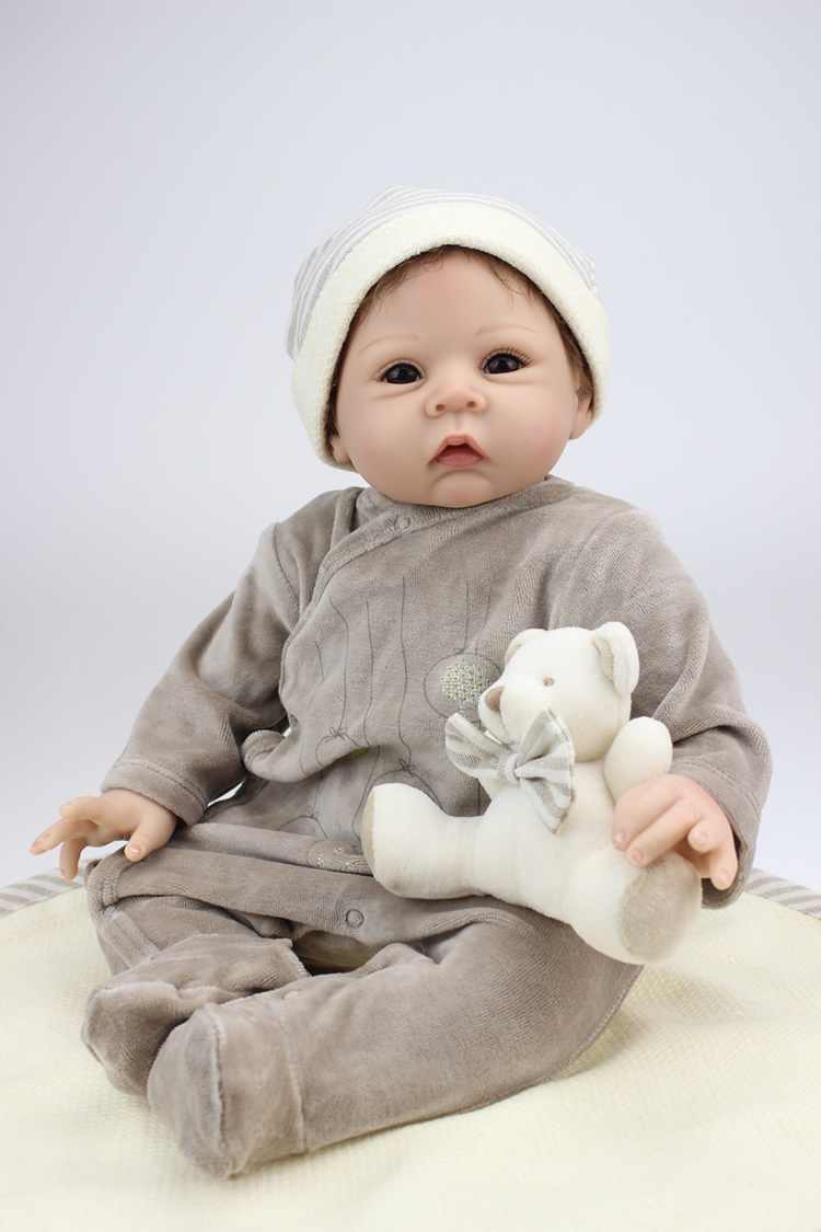 Baby Alive Real As Can Be Clothes Size : alive, clothes, Handmade, Lifelike, Silicone, Vinyl, Reborn, Newborn, +Clothes+Bear